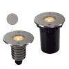 Schrack Technik DASAR LED HV PRO, kerek rozsdam. acél 316 6W 3000K 230V IP67
