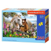 Castorland puzzle, In the Summer Meadow, 260 darab (5904438027309)