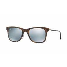 Ray-Ban RB4210 624430 MATTE HAVANA GREY FLASH napszemüveg