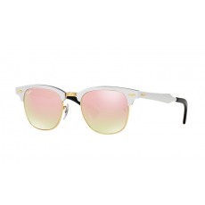 Ray-Ban RB3507 137/7O CLUBMASTER ALUMINUM BRUSCHED SILVER COPPER FLASH GRADIENT napszemüveg