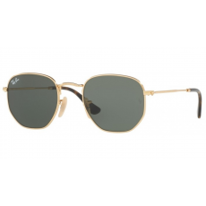 Ray-Ban RB3548N 001 GOLD GREEN napszemüveg