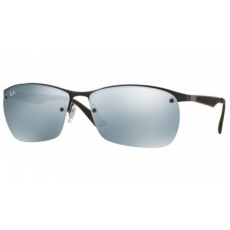 Ray-Ban RB3550 006/30 MATTE BLACK GREY FLASH napszemüveg