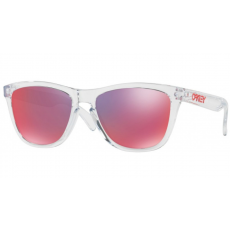Oakley OO9013 A5 FROGSKINS POLISHED CLEAR TORCH IRIDIUM napszemüveg