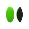 Odeco Eros Leaf akkus szilikon csiklóvibrátor - zöld/fekete