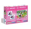 Minnie 2az1-ben puzzle, kirakós
