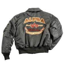 Alpha Industries CWU Custom - replica grey dzseki