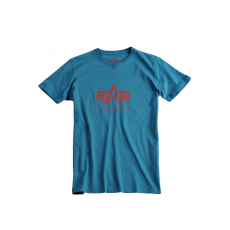 Alpha Industries Basic T - bold blue