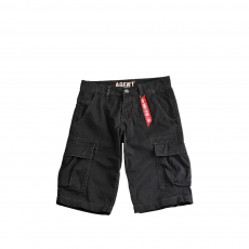 Alpha Industries Agent Short - fekete