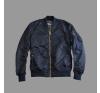 Alpha Industries MA-1 VF LW - replika kék/arany férfi kabát, dzseki