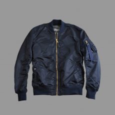 Alpha Industries MA-1 VF LW - replika kék/arany