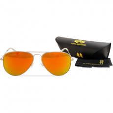 Alpha Industries Top Gun M napszemüveg - ezüst/arany