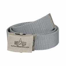Alpha Industries Heavy Duty Belt 4 cm - ezüst