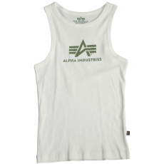 Alpha Industries Logo Tank - fehér/olive
