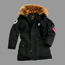 Alpha Industries Polar Jacket Női - fekete