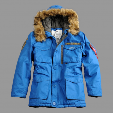 Alpha Industries Mountain Parka - royal