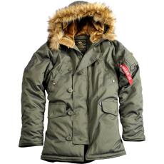 Alpha Industries Explorer Női - dark green kabát