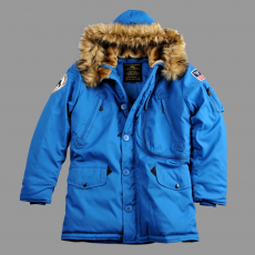 Alpha Industries Polar Jacket - royal