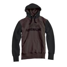 Alpha Industries Adrenaline Hoody - szürkés fekete kapucnis pulóver