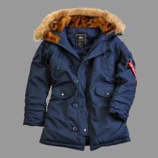 Alpha Industries Explorer női felvarró nélkül - replica blue kabát