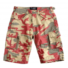 Alpha Industries Patrol Short - olive/red camo