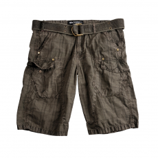 Alpha Industries Checked Short - greyblack