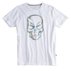 Alpha Industries Camo Skull T - fehér