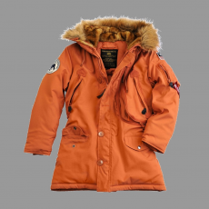 Alpha Industries Polar Jacket Női - narancs