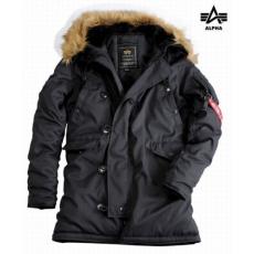 Alpha Industries Explorer Női - fekete kabát