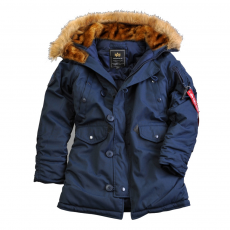 Alpha Industries Explorer Női - replica kék kabát