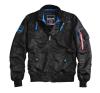 Alpha Industries Falcon II - fekete férfi kabát, dzseki