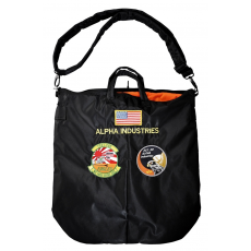 Alpha Industries Helmet Bag - fekete