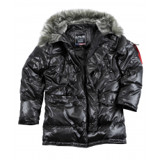Alpha Industries N3B Down Jacket - fekete