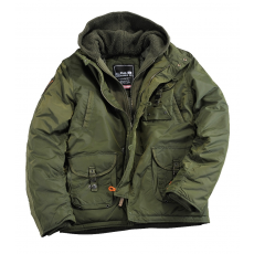 Alpha Industries Cobbs III - dark green