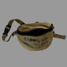 Alpha Industries Cargo Canvas Waist Bag - olive