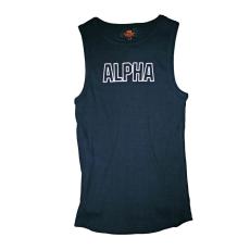 Alpha Industries Track Tank - fekete