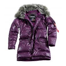 Alpha Industries N3B Down Jacket Női - lilac