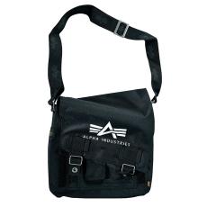 Alpha Industries Big A Oxford Utility Bag - fekete táska