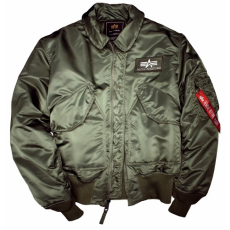 Alpha Industries CWU 45 - sage green dzseki