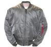 Alpha Industries MA-1 - gunmetal férfi kabát, dzseki