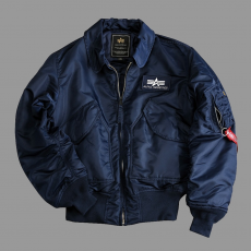 Alpha Industries CWU 45 - replica kék dzseki