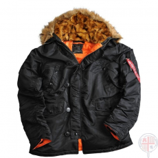 Alpha Industries N3B VF 59 - fekete