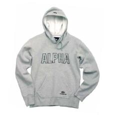 Alpha Industries Track Hoody - szürke