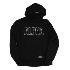 Alpha Industries Track Hoody - fekete