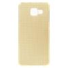 Samsung Galaxy A3 (2016) Szilikon Tok RMPACK Diamond - Gyémánt Mintával Arany