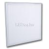 V-tac 45W álmennyezetbe süllyeszthető led panel (600x600 mm, alumínium ház, 3600 lumen, meleg fehér)