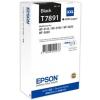 Epson C13T789140 Tintapatron WP5110DW, WP5190DW nyomtatóhoz, EPSON fekete, 4k