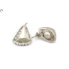Gyöngyös fantázia ezüst fülbevaló
