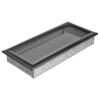 Ezüst - Fekete Szellőzőrács Oscar 17x37