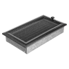 Ezüst - Fekete Szellőzőrács Oscar 17x30 Redőnnyel