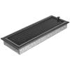 Ezüst - Fekete Szellőzőrács Oscar 17x49 Redőnnyel